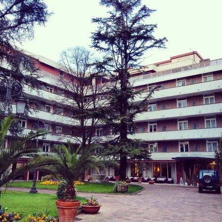 Piscina esterna in notturna foto di hotel mioni pezzato abano terme tripadvisor - Hotel mioni pezzato ingresso piscina ...