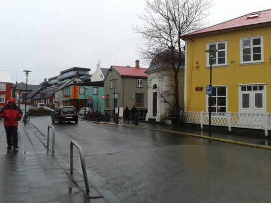 Reykjavik Treasure B&B : The road leading to the B&B