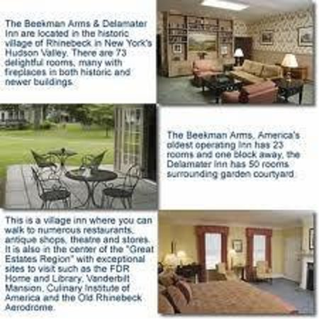 Beekman Arms and Delamater Inn : Lovely Description