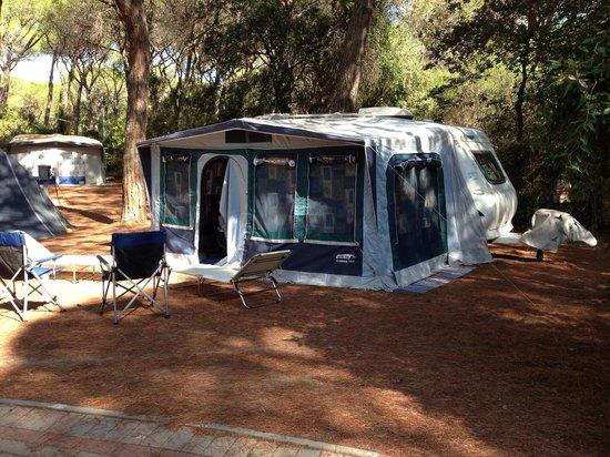 Cieloverde Camping Village: Piazzola