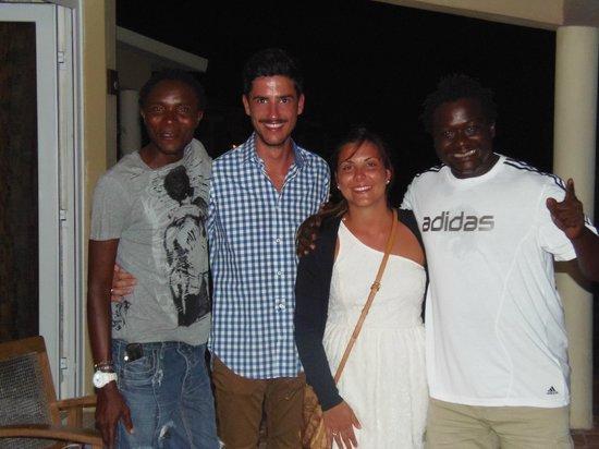 Ora Resort Watamu Bay: noi con Marco e Juma!