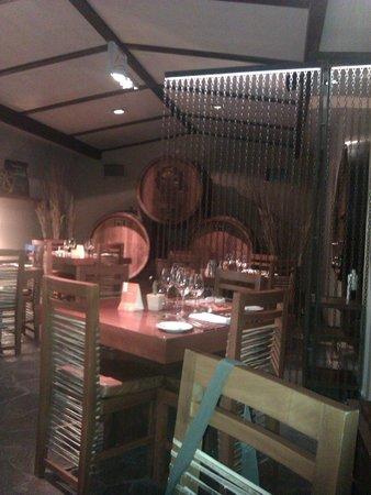 Restaurante La Vid: La sala