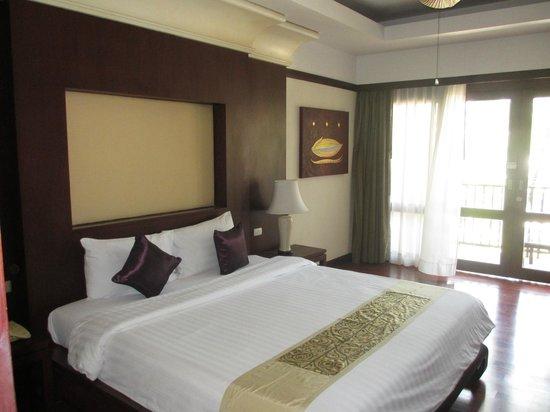 Duangjitt Resort & Spa : Fab upstairs bedroom 3102