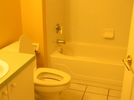 Liki Tiki Village: This is the smaller bathroom in our condo