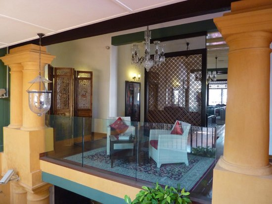 Yeng Keng Hotel: Guest seating area