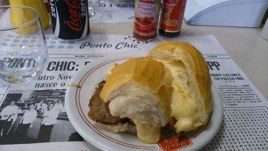 Ponto Chic: Sanduíche Bauru