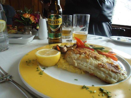 Portillo Hotel: Comida restaurante