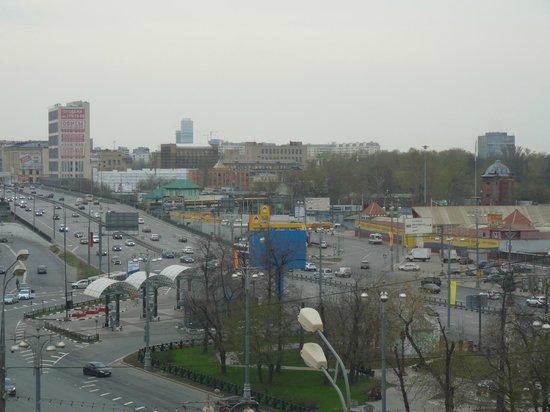 Holiday Inn Moscow Suschevsky: Vue sur le marché ou il faut aller ...
