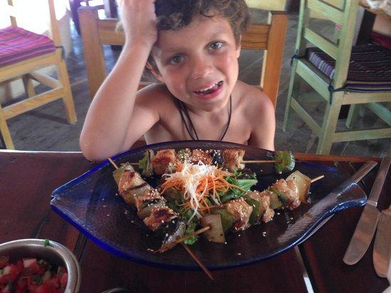 Ahau Tulum : Chicken-On-A-Stick