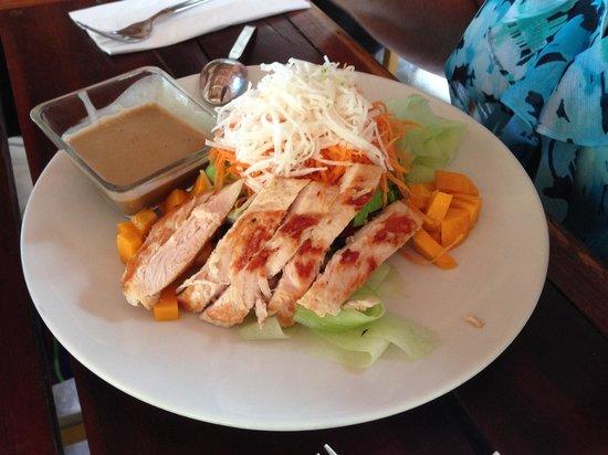 Ahau Tulum : On a lighter note, Chicken Salad