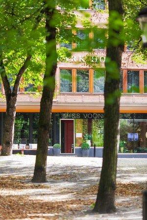 Fasaden på Elite Eden Park Hotel