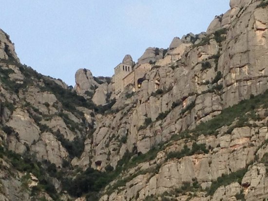 Barcelona Day Tours: Montserrat from the ground