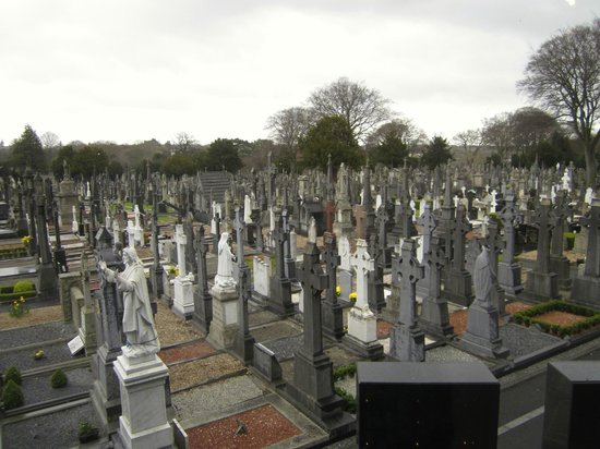 Glasnevin Cemetery Museum: Overview of cemetery