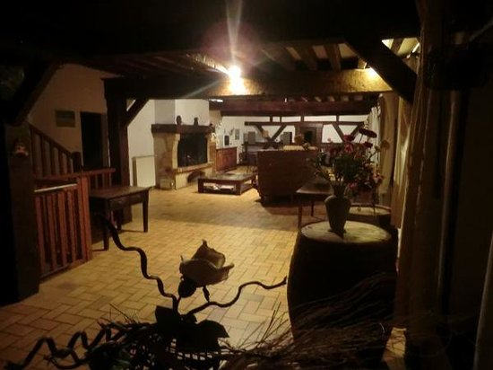Le Domaine du Masoe des Chatards : Il grande salone
