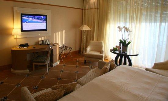 Grand Hyatt Cannes Hotel Martinez: Work area