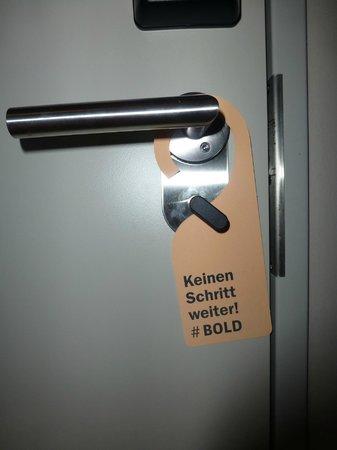 Bold Hotel München: Zimmer