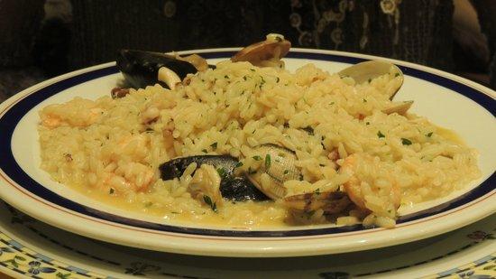 Ristorante Mino: Risoto de frutos do mar
