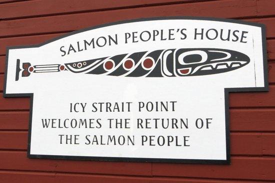 Chichagof Island: Salmon People sign
