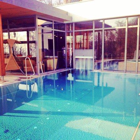 La Clairiere : piscine extérieur