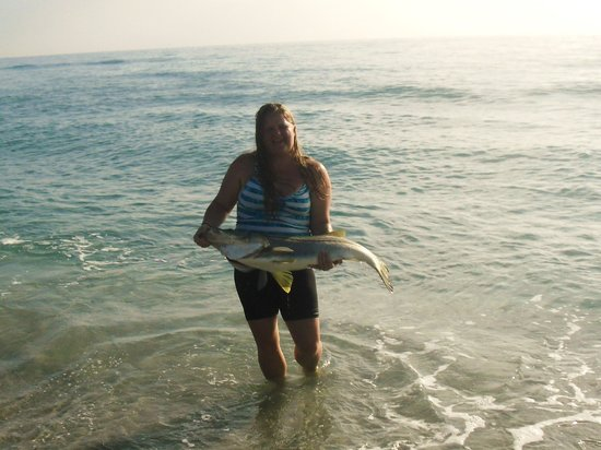 North Palm Beach, FL: Coco and a Snook