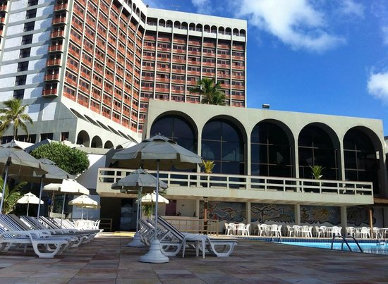 Bahia Othon Palace: Na piscina