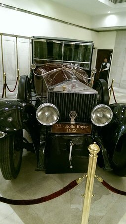 Pearl Continental Lahore: The famous Rolls-Royce owned by Nawab of Bhawalpur
