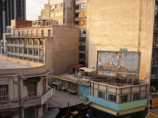 Acropole Hotel : Вид из отеля