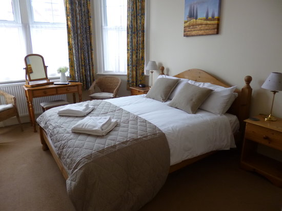 Beamsley Lodge: Our large double room on the first floor