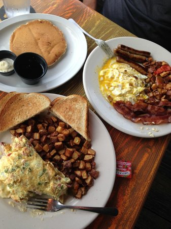 Sculley's Boardwalk Grille: Breakfast at Sculley's!