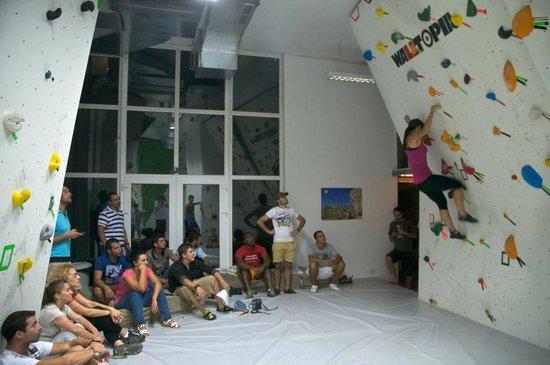 Rock Tirana Climbing Gym