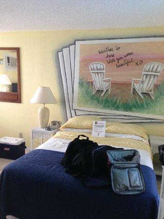 Sun Burst Inn: Bed