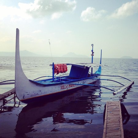 Uncharted Philippines Adventure Travel and Day Tours: Boat ride to Taal Volcano