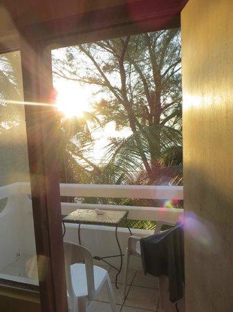 Hotel Maria del Carmen : Coucher de soleil du balcon