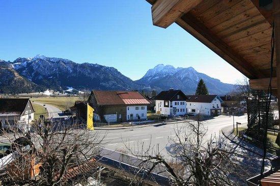 Das Schwanstein: Ausblick