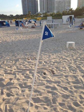 Marriott Stanton South Beach: Raise your flag for beach service