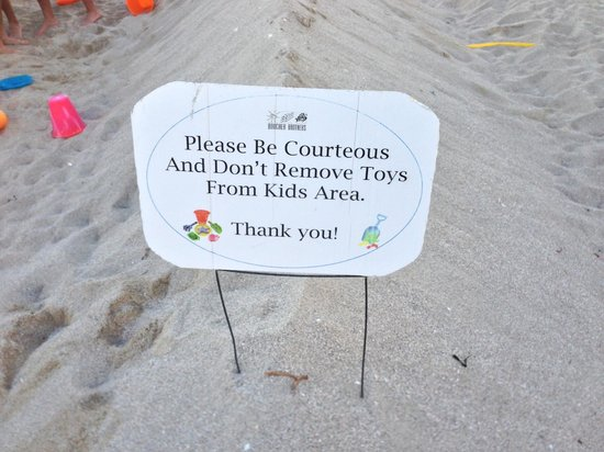 Marriott Stanton South Beach: Cute play area stocked with toys