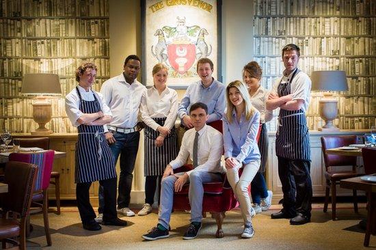 The Grosvenor Arms: The Team