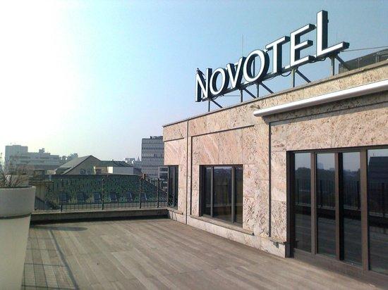 Novotel Berlin Am Tiergarten: Auf der Terrasse