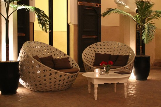 Riad Ambre et Epices : Nice common room