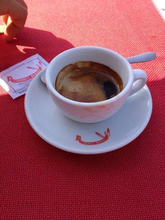 Ristorante Omnibus: Espresso, €2.80