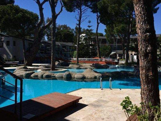 Cornelia De Luxe Resort: Pool by Junior Suites