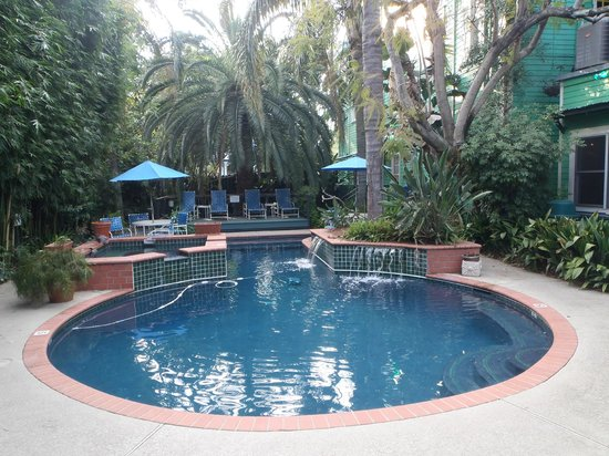 Green House Inn: Pool Area