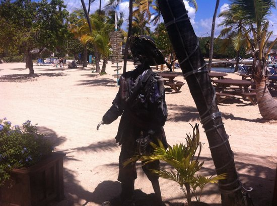 Iggies Beach Bar and Grill : Pirate at Iggies