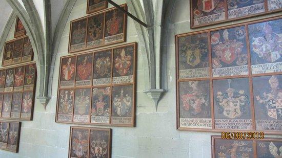 Muenster Unserer Lieben Frau : Рыцарские гербы