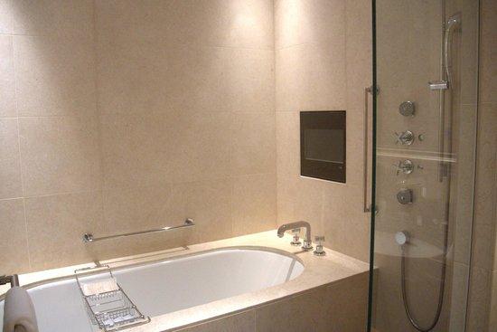 The St. Regis Osaka : Bathoom / Tub and Shower Area