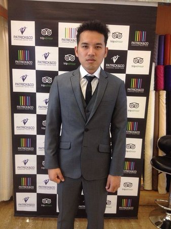 Look Dapper With Your Customized Suit Picture Of Patrick Co Bangkok Tripadvisor
