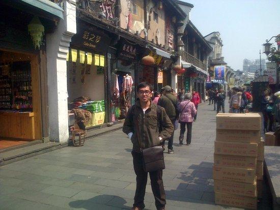 Hefang Street: di jalan hefang , hangzhou