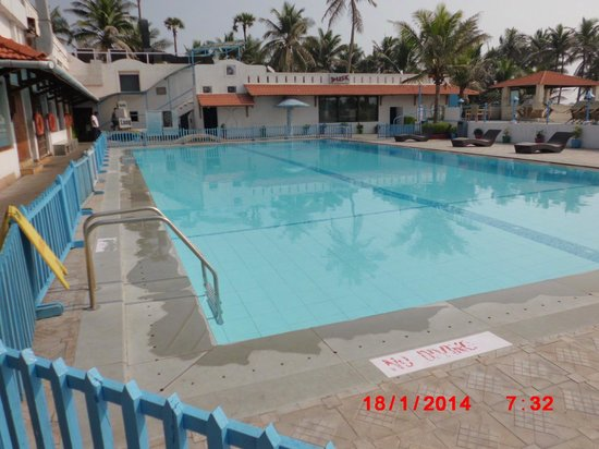 Pool Picture Of Palm Beach Hotel Resort Visakhapatnam Vizag Tripadvisor