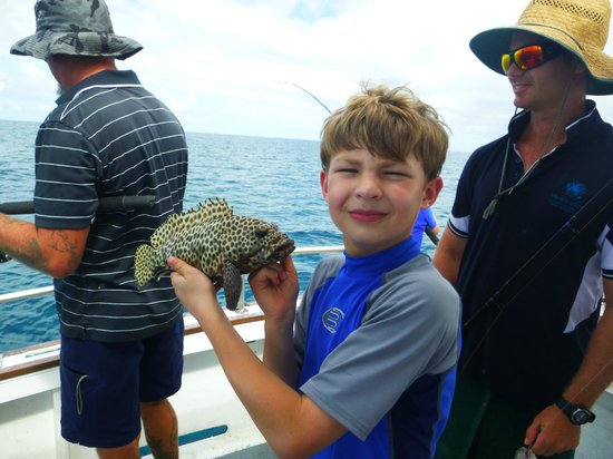 Heron Island Resort: Fishing off Heron Island