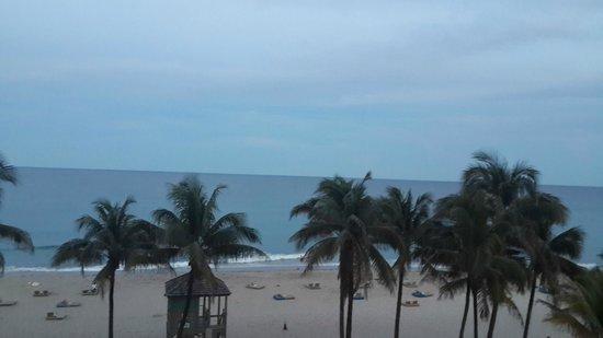 Wyndham Deerfield Beach Resort : En la mañana desde el Cuarto